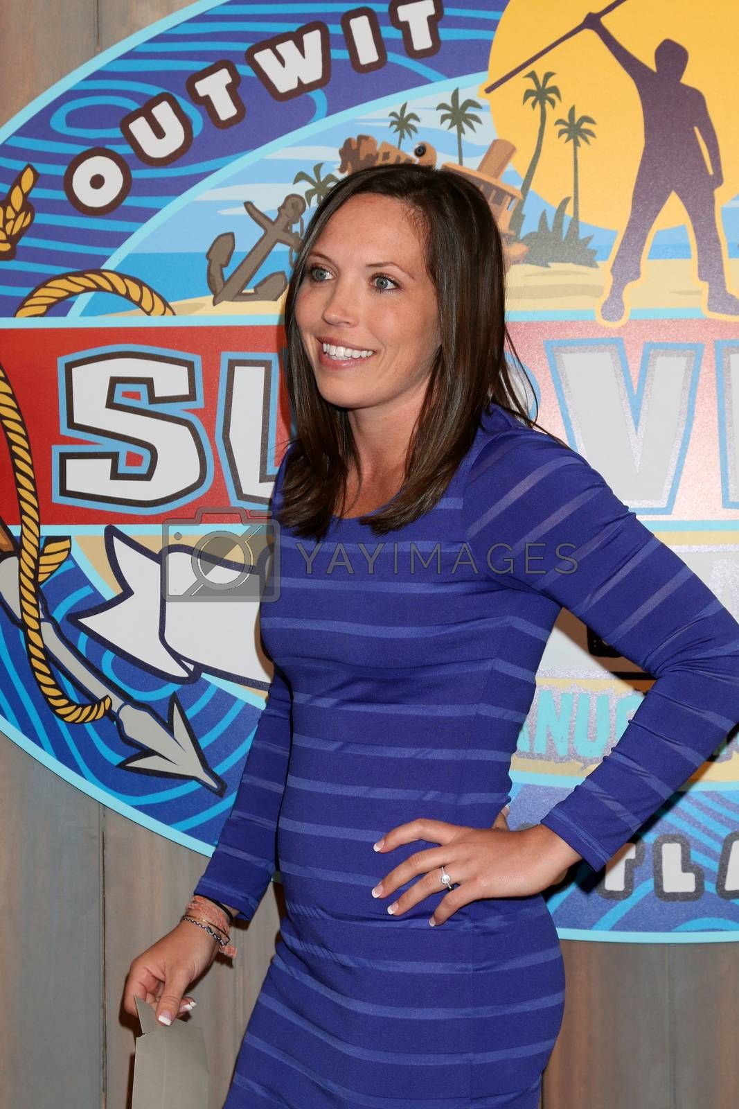 "Sarah Lacina, Winner at the ""Survivor: Game Changers - Mamanuca Islands"" Finale, CBS Studio Center, Studio City, CA 05-24-17"