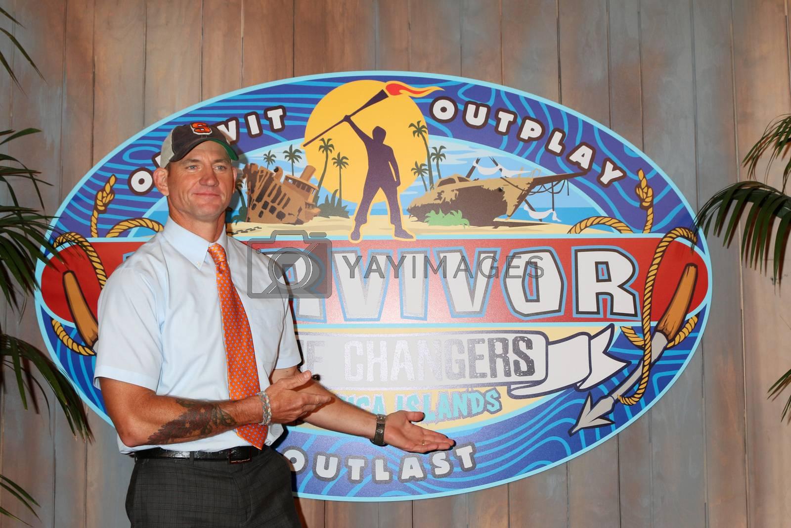 "Brad Culpepper at the ""Survivor: Game Changers - Mamanuca Islands"" Finale, CBS Studio Center, Studio City, CA 05-24-17"