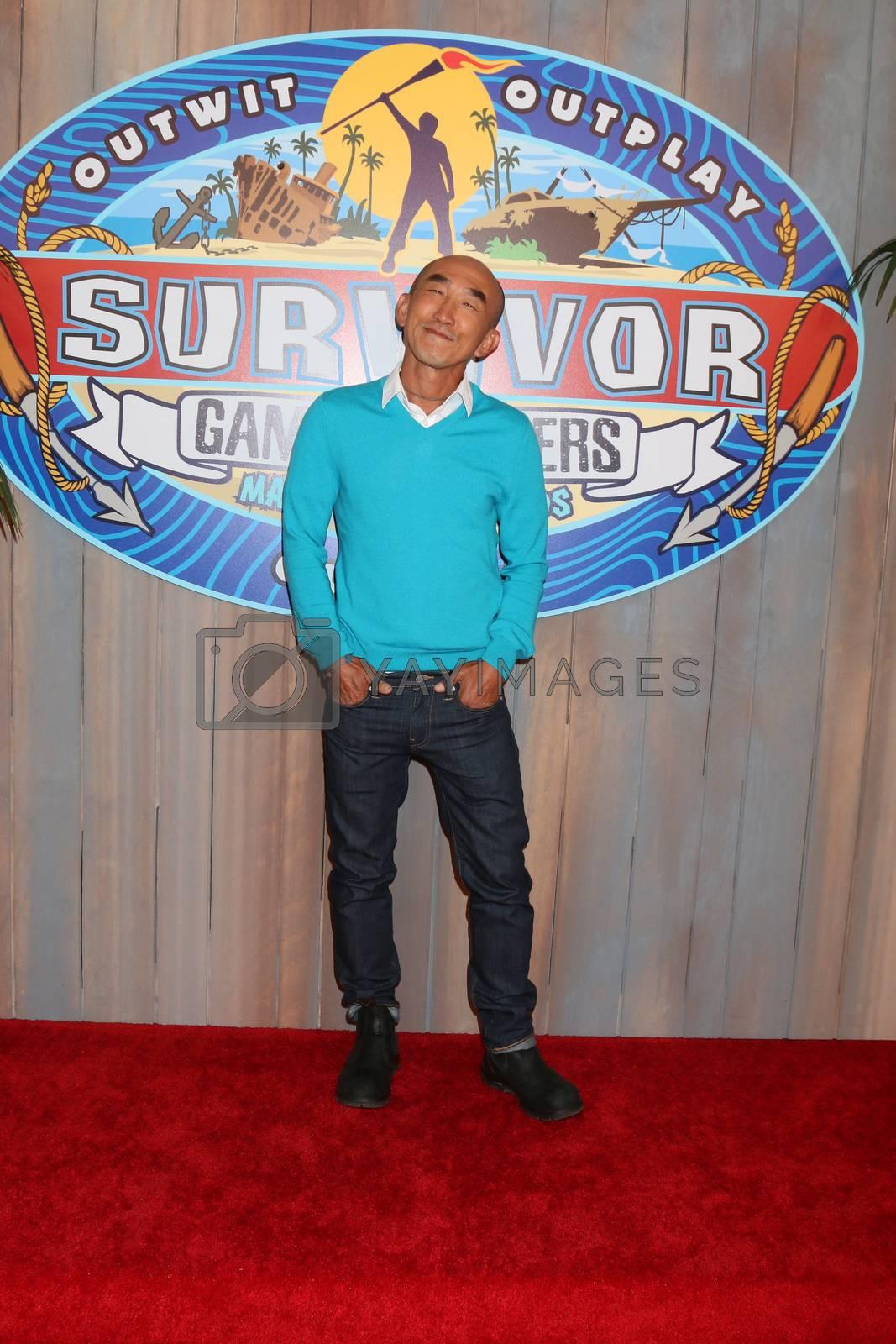 "Tai Trang at the ""Survivor: Game Changers - Mamanuca Islands"" Finale, CBS Studio Center, Studio City, CA 05-24-17"