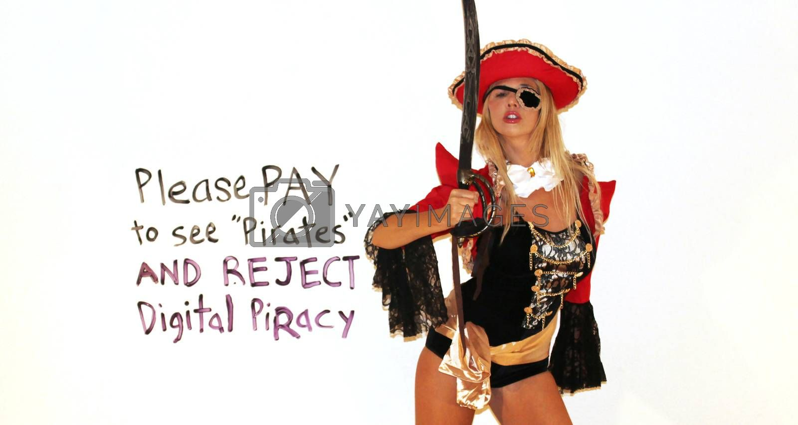Nadeea Volianova the Russian Pop Star - a lifelong Johnny Depp fan - urges people to pay to see the new Pirates movie and ignore the pirated copy that hackers released, Beverly Hills, CA 05-25-17