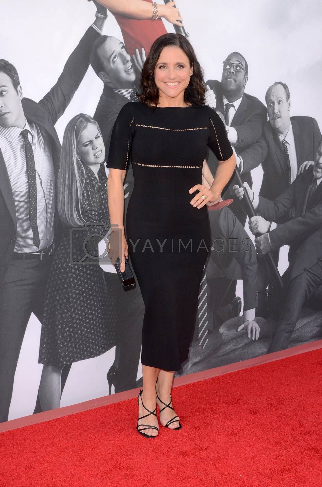 Julia Louis-Dreyfus at FYC for HBO's series VEEP 6th Season, Television Academy, North Hollywood, CA 05-25-17/ImageCollect by ImageCollect