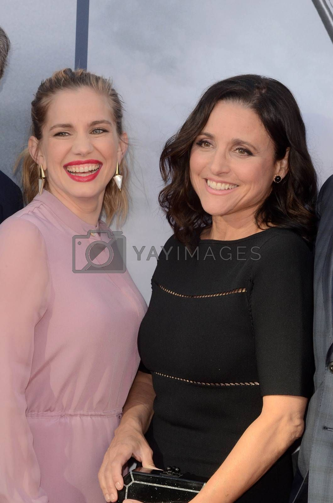 Anna Chlumsky, Julia Louis-Dreyfus at FYC for HBO's series VEEP 6th Season, Television Academy, North Hollywood, CA 05-25-17