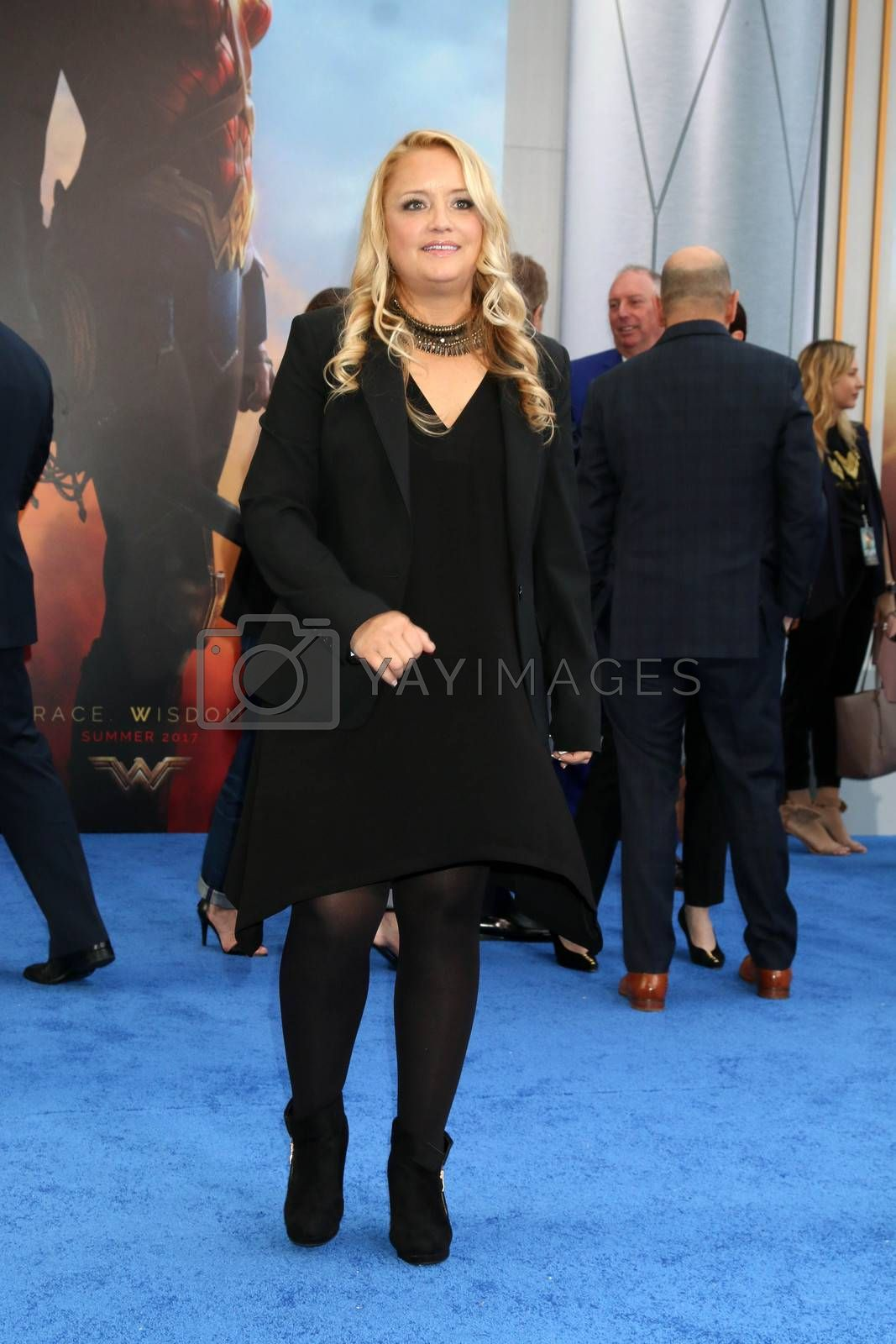 "Lucy Walker at the ""Wonder Woman"" Premiere, Pantages, Hollywood, CA 05-25-17"