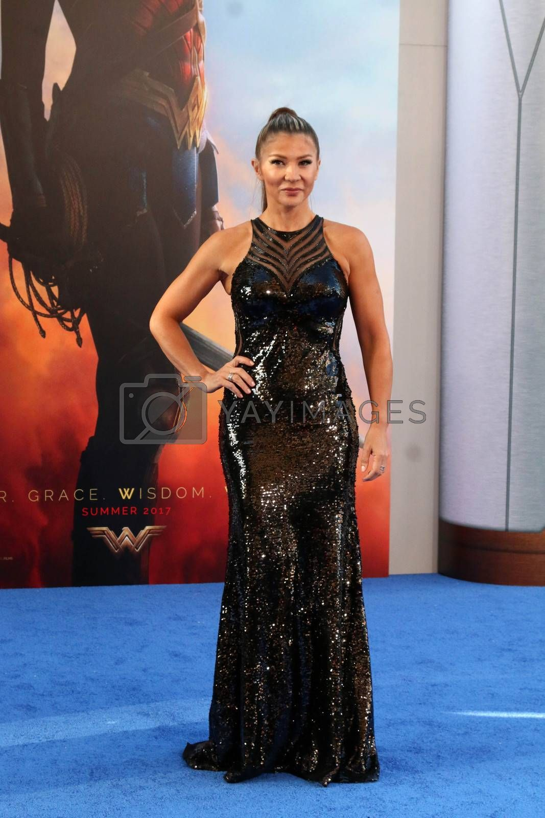 "Mayling Ng at the ""Wonder Woman"" Premiere, Pantages, Hollywood, CA 05-25-17"