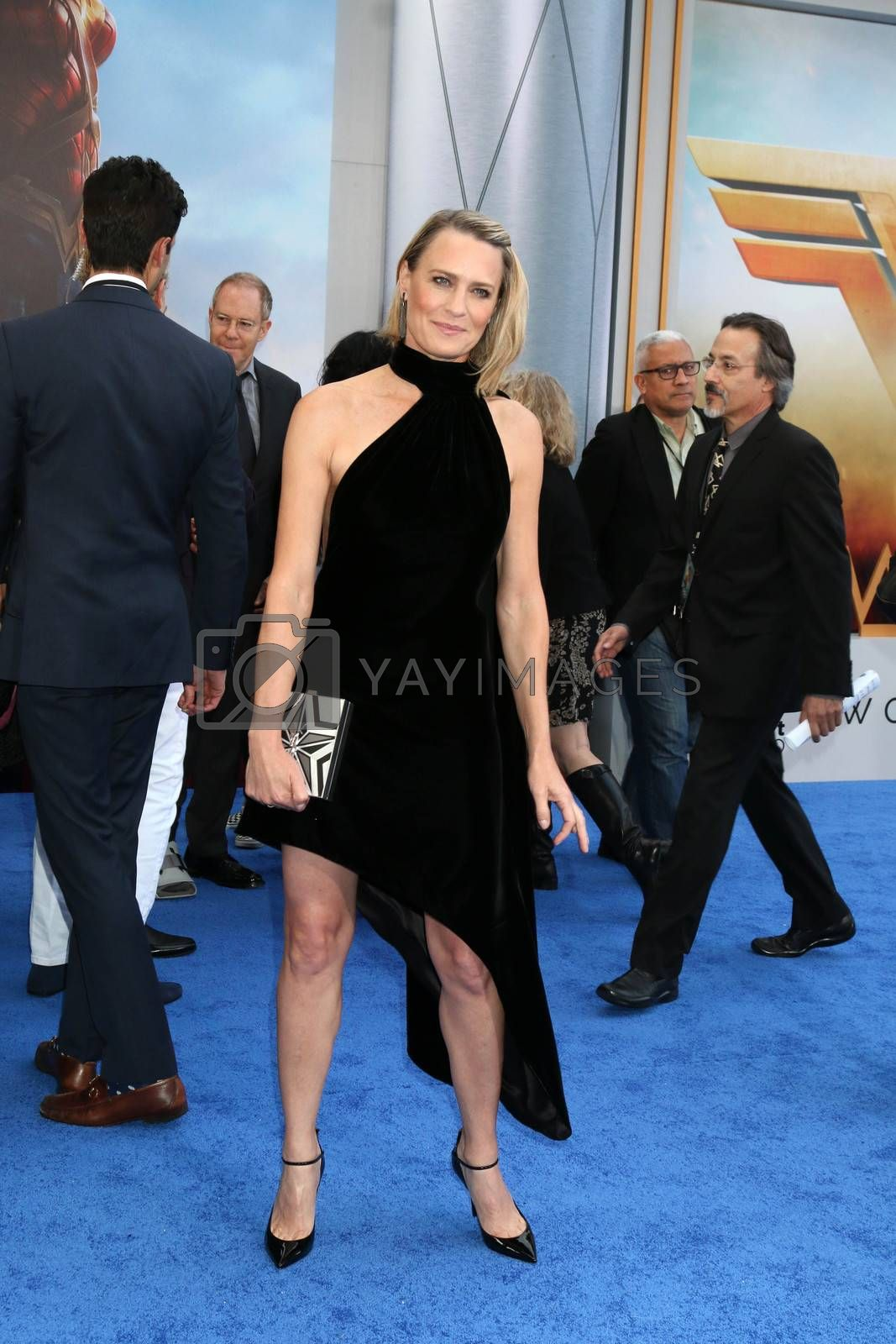"Robin Wright at the ""Wonder Woman"" Premiere, Pantages, Hollywood, CA 05-25-17"