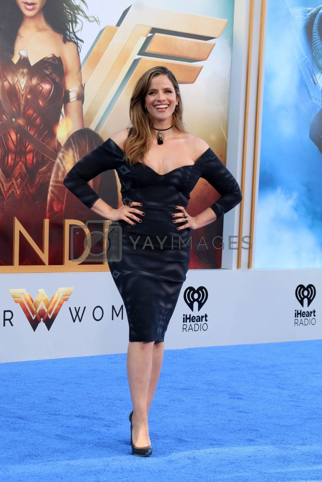 "Noa Tishby at the ""Wonder Woman"" Premiere, Pantages, Hollywood, CA 05-25-17"
