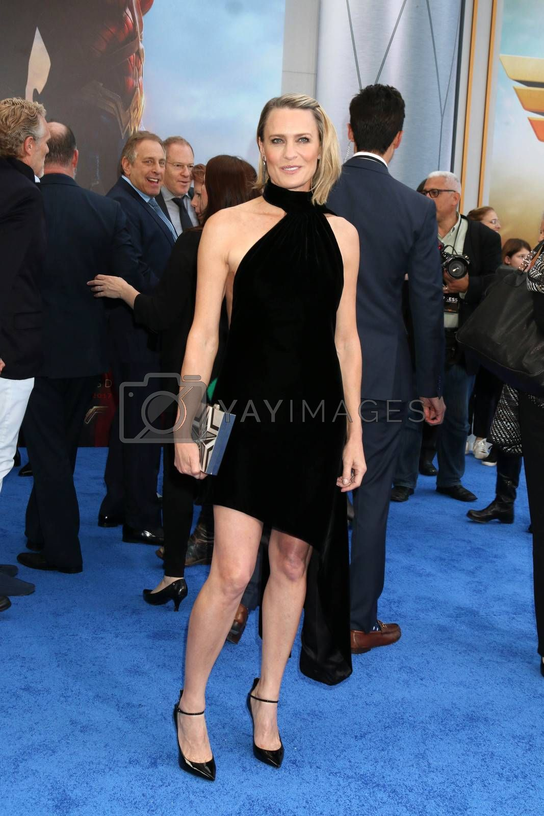 """Robin Wright at the """"Wonder Woman"""" Premiere, Pantages, Hollywood, CA 05-25-17"""