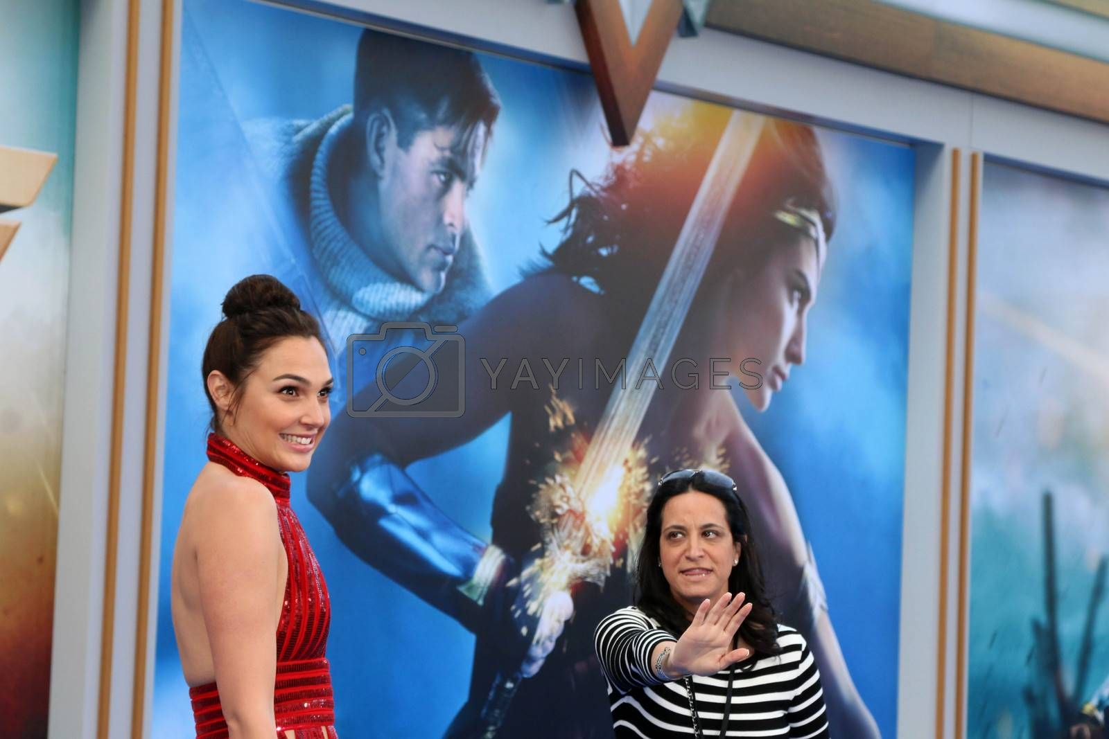 """Gal Gadot at the """"Wonder Woman"""" Premiere, Pantages, Hollywood, CA 05-25-17/ImageCollect by ImageCollect"""