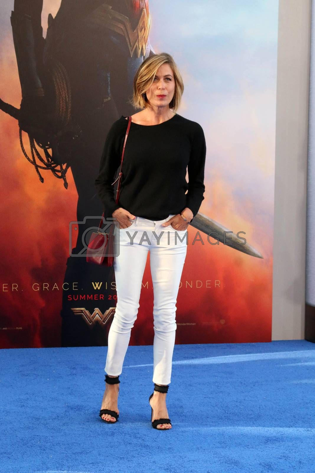 "Sonya Walger at the ""Wonder Woman"" Premiere, Pantages, Hollywood, CA 05-25-17"