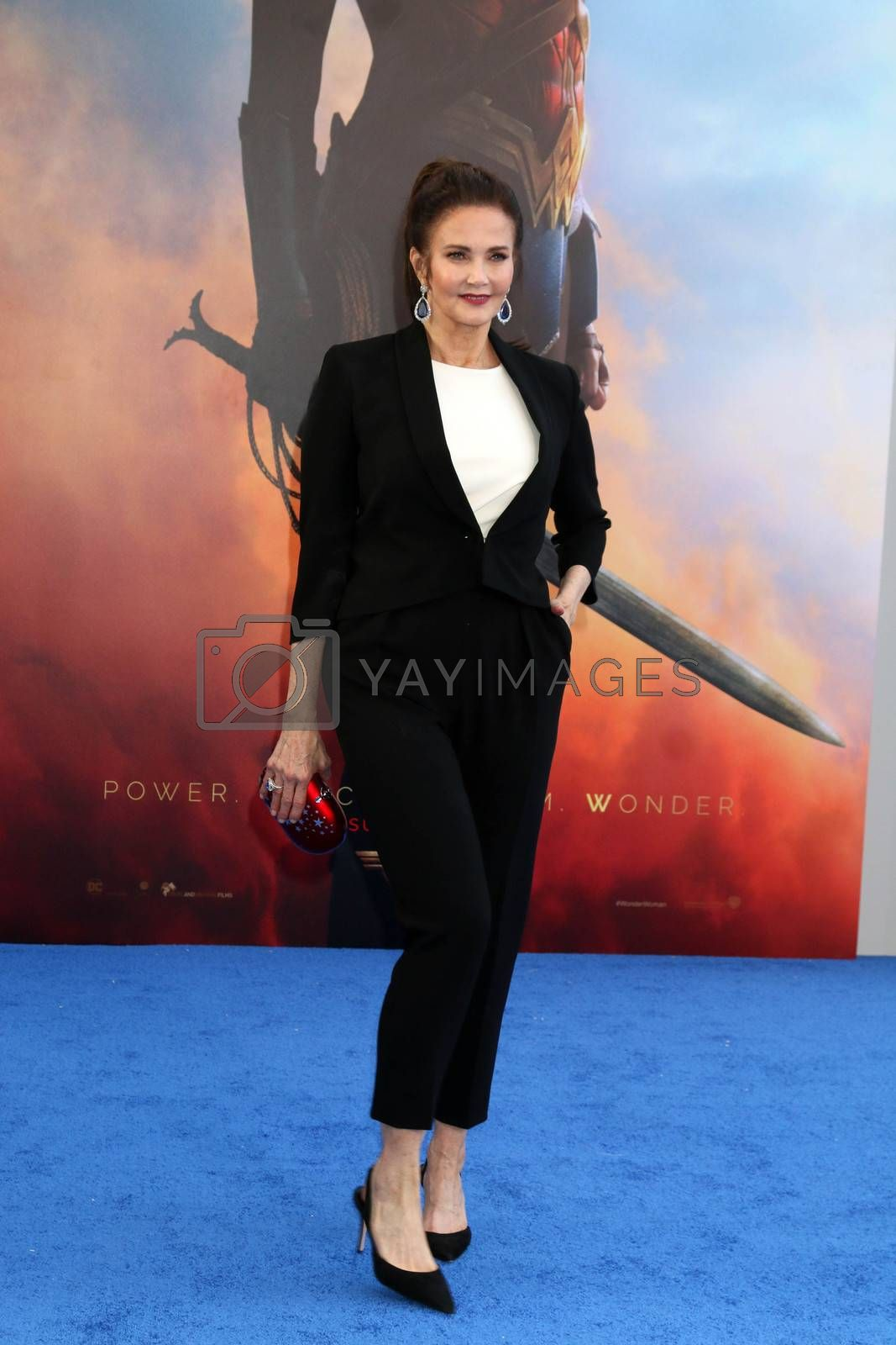 """Royalty free image of Lynda Carter at the """"Wonder Woman"""" Premiere, Pantages, Hollywood, CA 05-25-17/ImageCollect by ImageCollect"""
