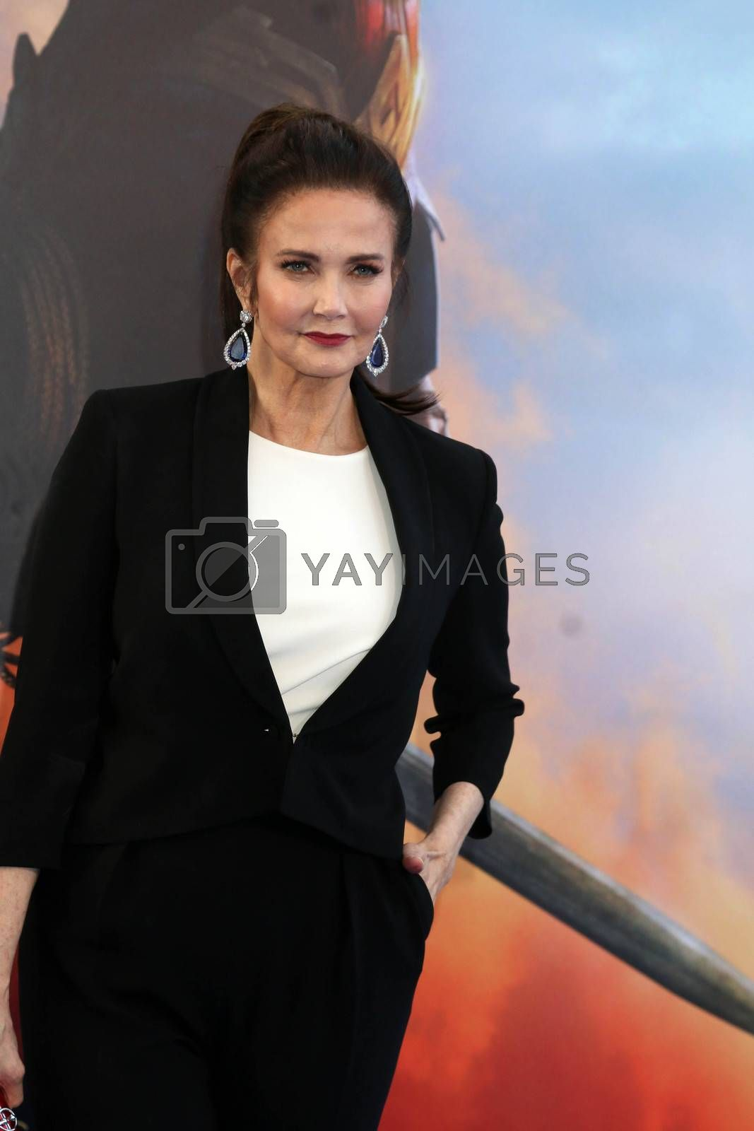 """Lynda Carter at the """"Wonder Woman"""" Premiere, Pantages, Hollywood, CA 05-25-17/ImageCollect by ImageCollect"""