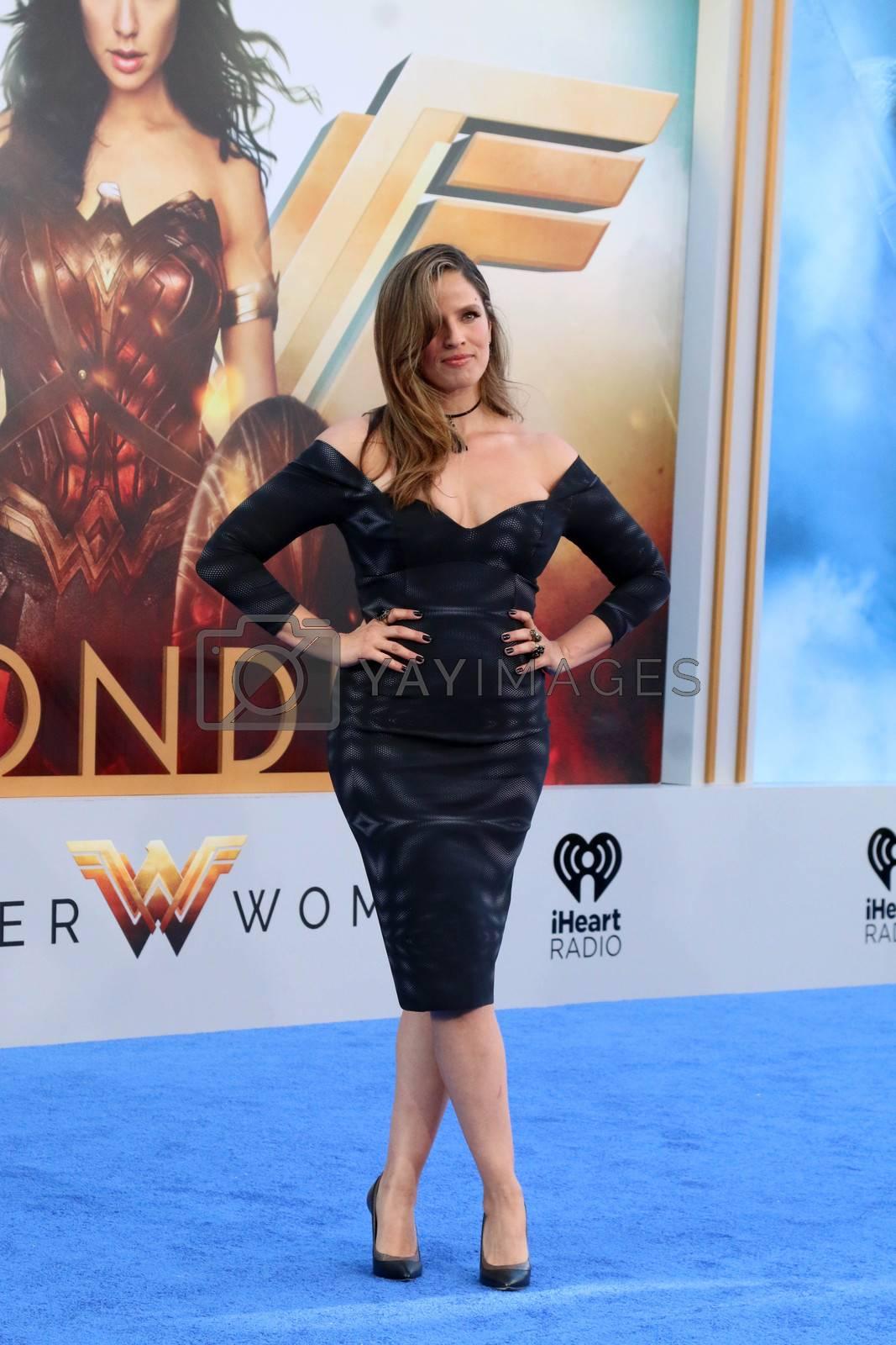 "Noa Tishby at the ""Wonder Woman"" Premiere, Pantages, Hollywood, CA 05-25-17"