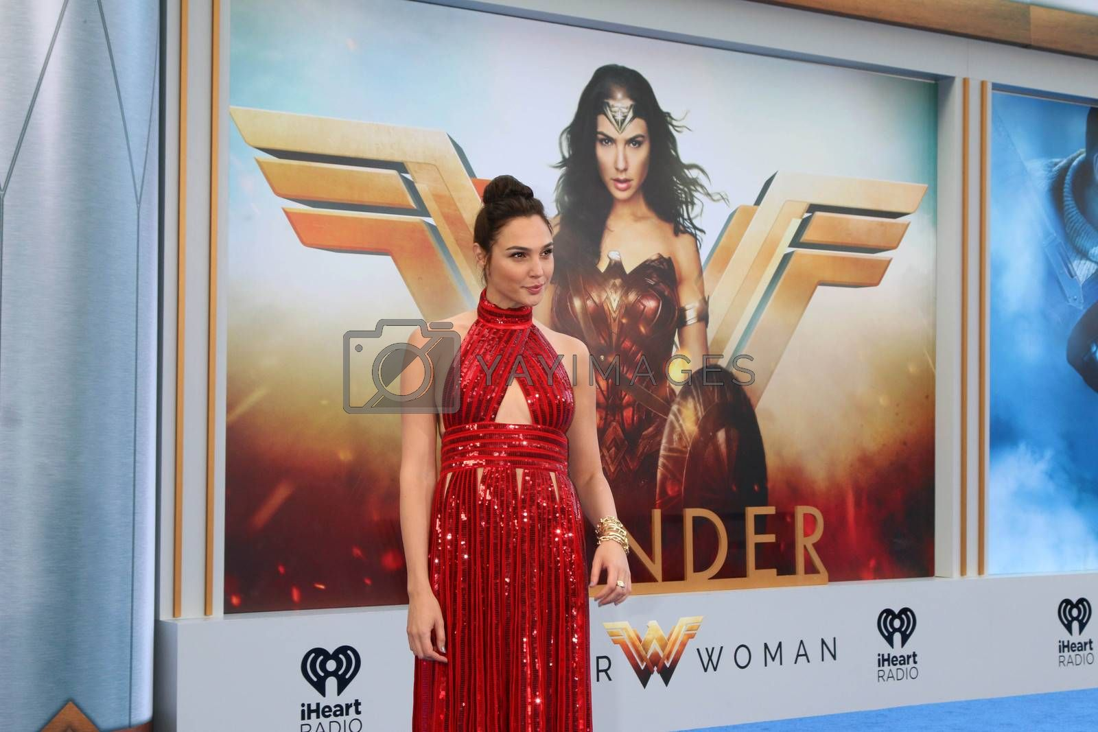 "Royalty free image of Gal Gadot at the ""Wonder Woman"" Premiere, Pantages, Hollywood, CA 05-25-17/ImageCollect by ImageCollect"