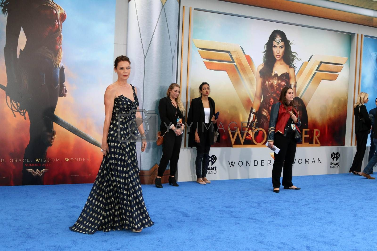 """Royalty free image of Connie Nielsen at the """"Wonder Woman"""" Premiere, Pantages, Hollywood, CA 05-25-17/ImageCollect by ImageCollect"""