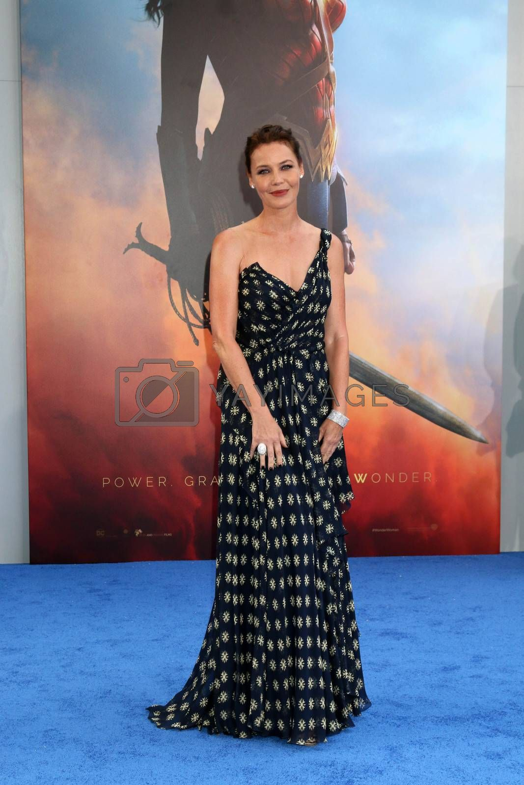 """Connie Nielsen at the """"Wonder Woman"""" Premiere, Pantages, Hollywood, CA 05-25-17/ImageCollect by ImageCollect"""