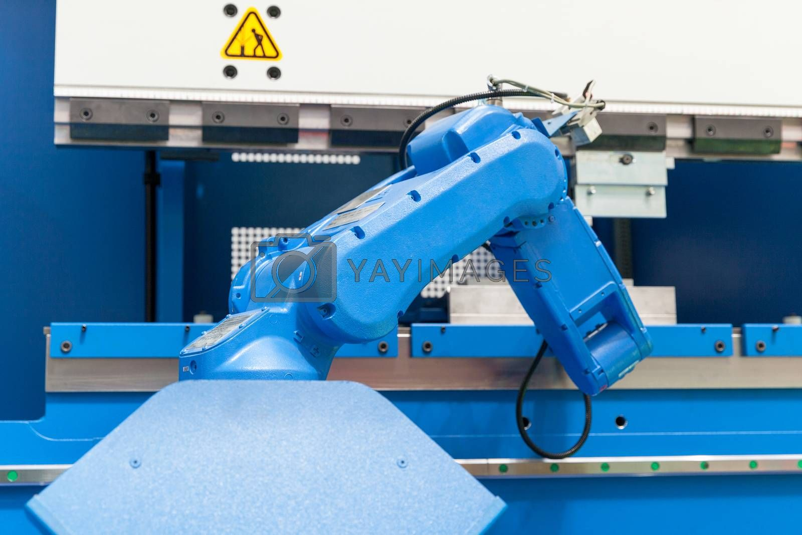 Assembly, machine tending, part transfer, pick and place robot arm