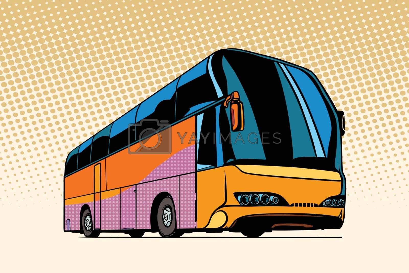 Royalty free image of tourist bus, public transport by studiostoks