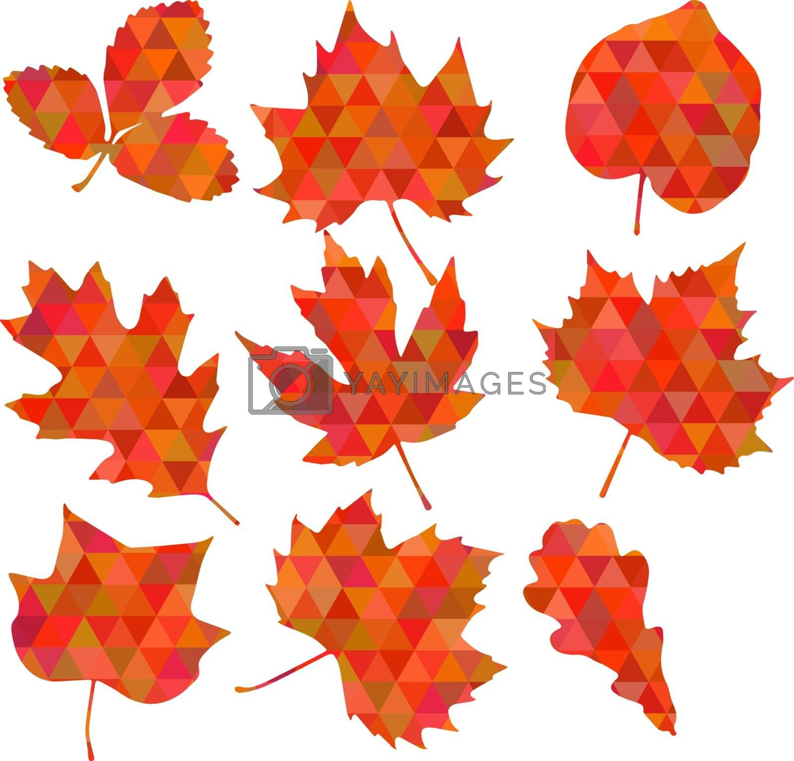 Cute Floral pattern in the small leaf . Ditsy print . Motifs scattered random. Vector texture. Elegant template for fashion prints.
