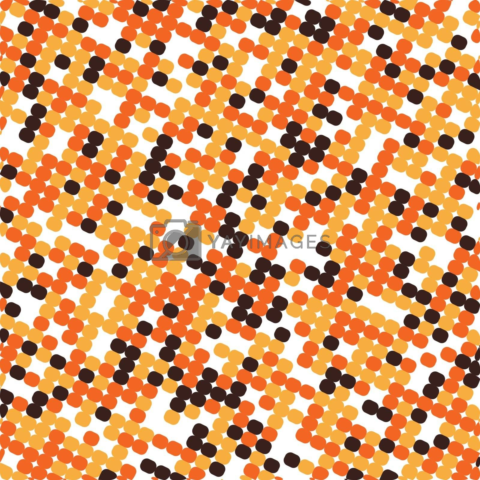 Simple background with colored squares and rhombuses