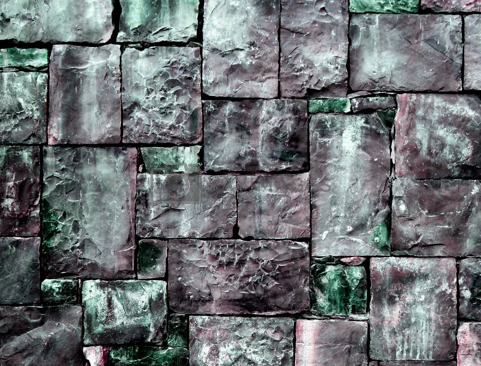 Royalty free image of Background of Cobblestones  by zhekos