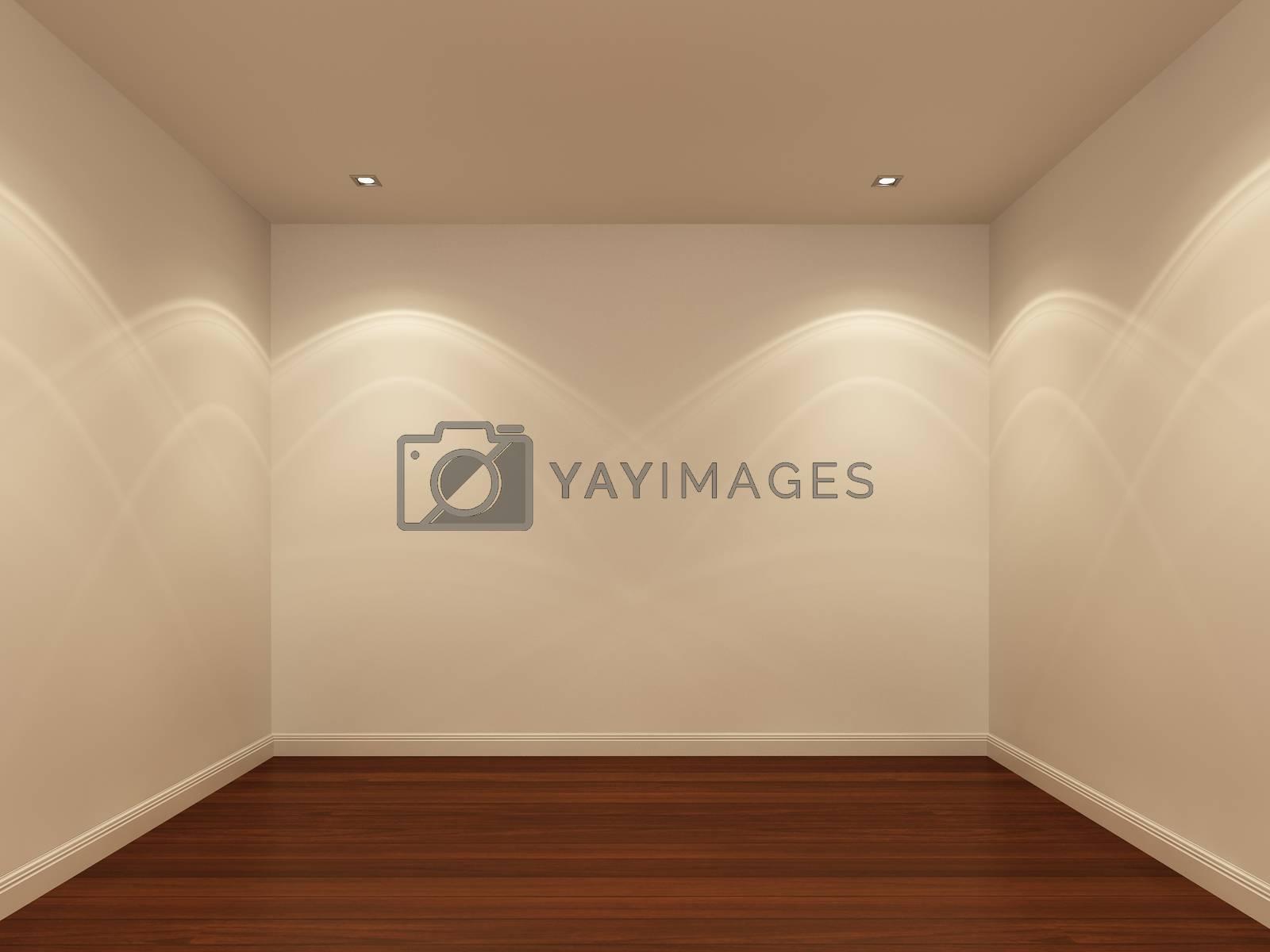 empty room,3d interior
