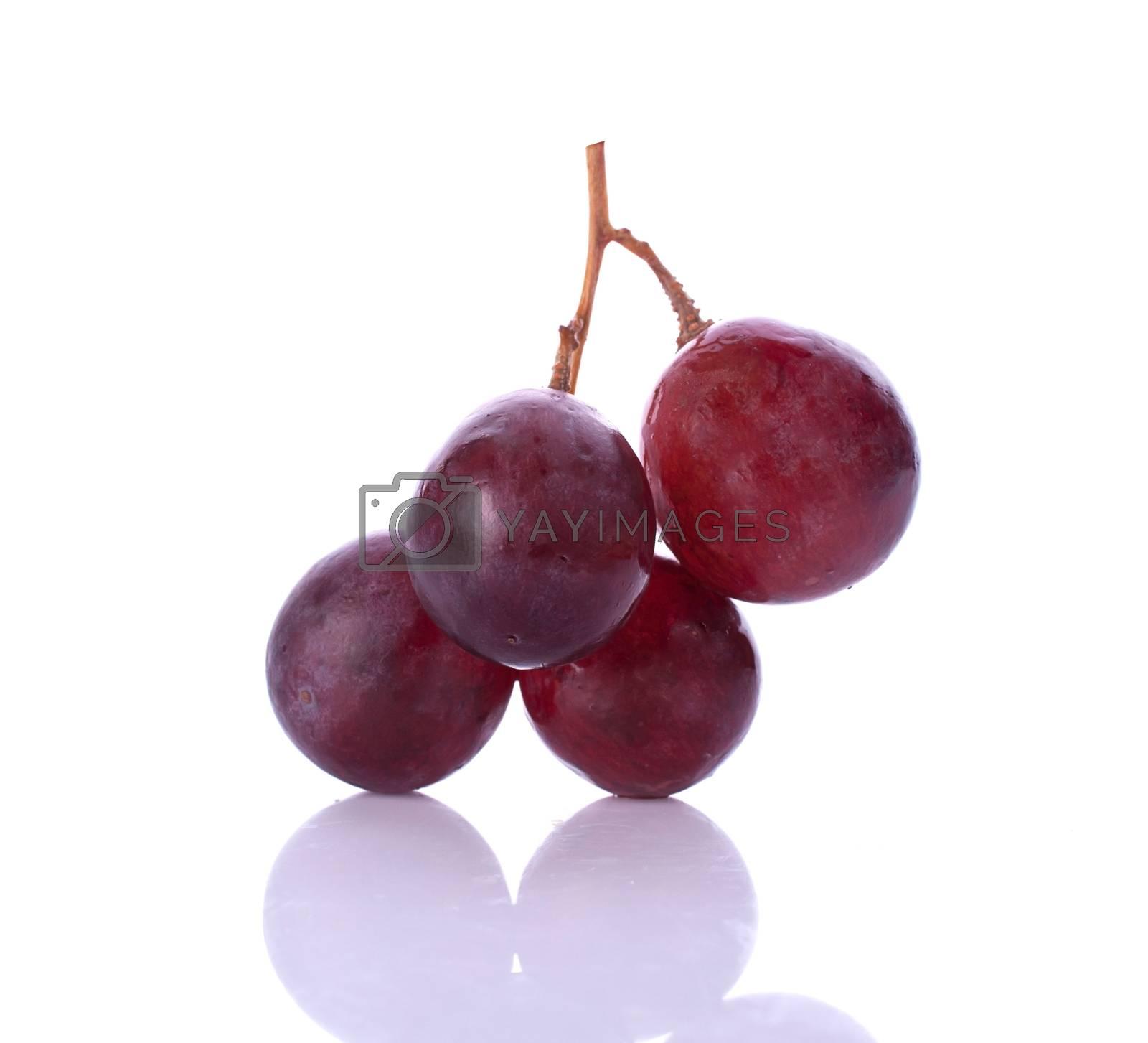 grape berry close up background