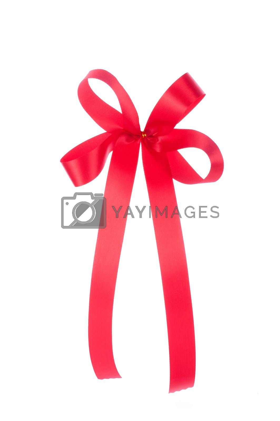 ribbon isolated on white background