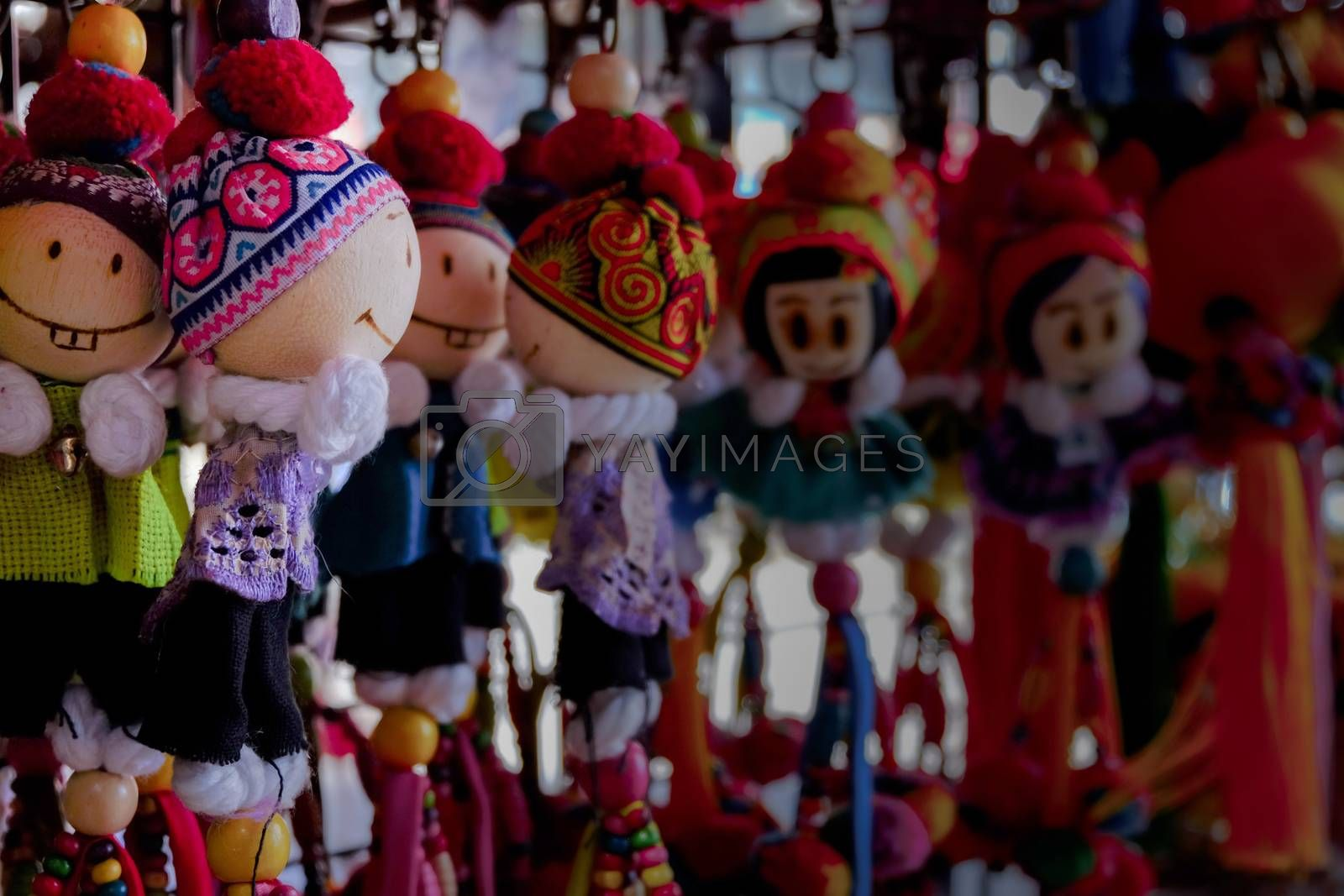 key ring of Thailand for background.