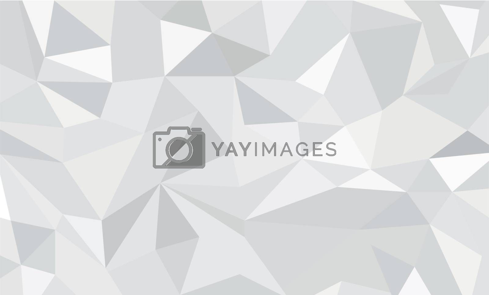 Bright background for greeting cards. Polygon background silver color. raster illustration. banner. To implement your design ideas, business subjects, successful presentations