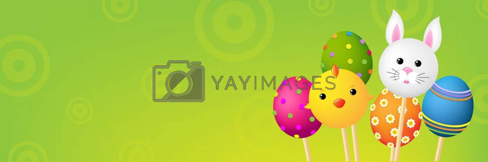 Easter Banner by barbaliss