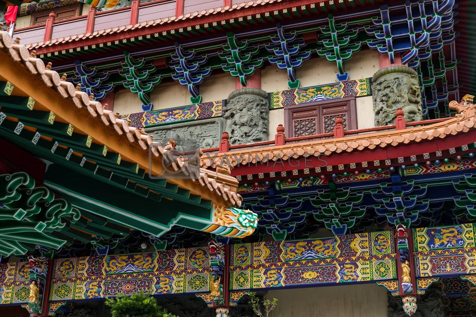 Royalty free image of Chinese temple by leungchopan