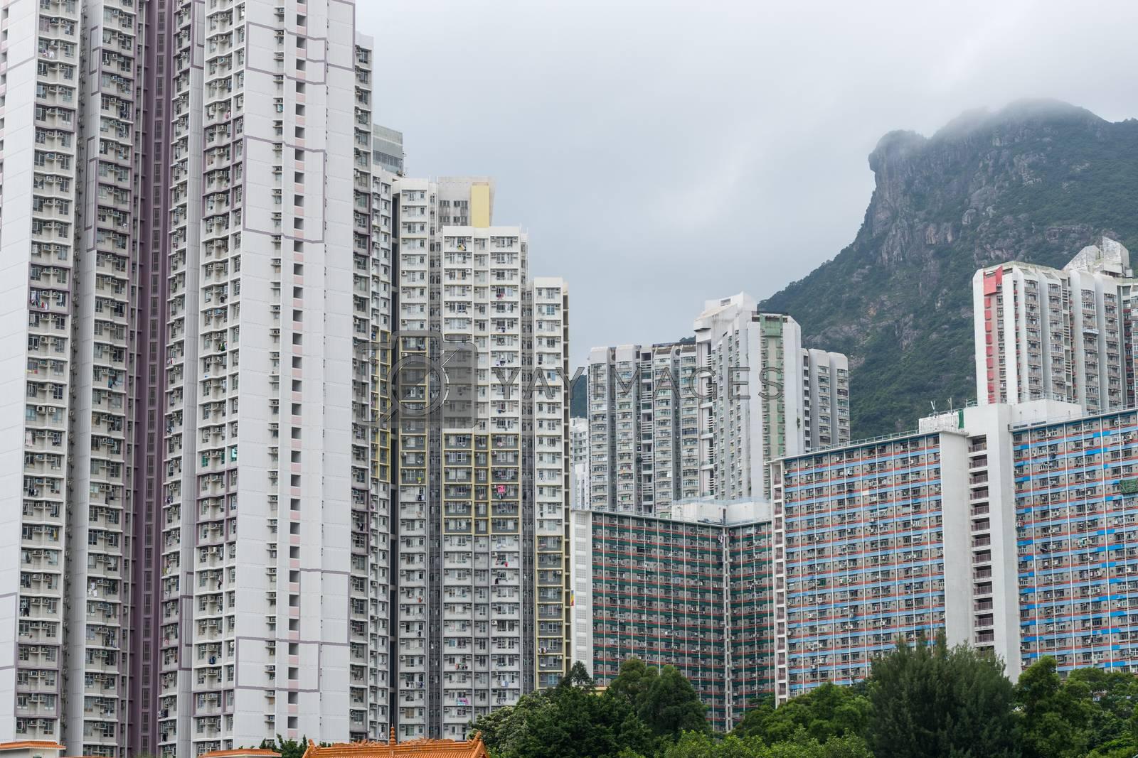 Royalty free image of Hong Kong cityscape by leungchopan