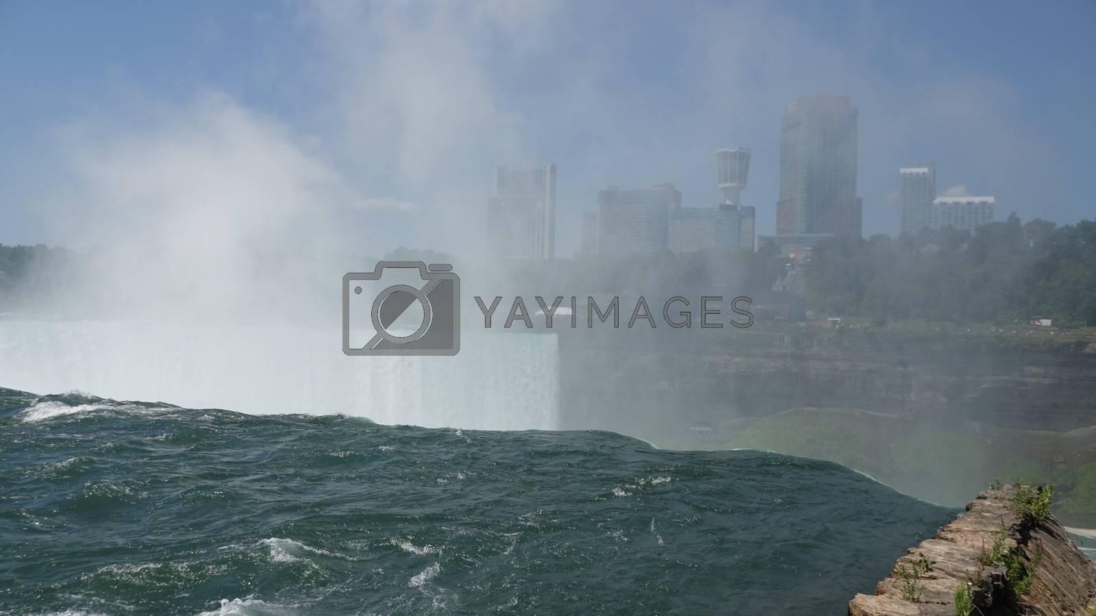 Water Falls At Niagara