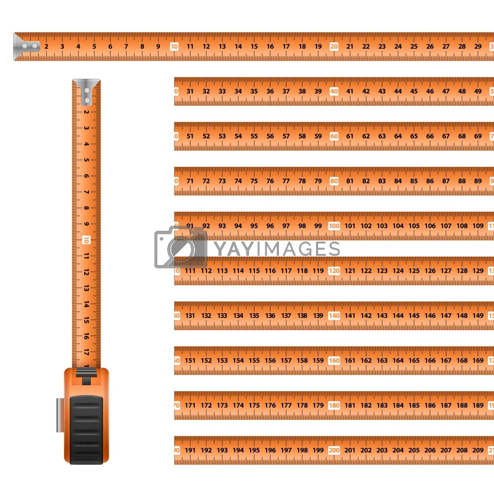 Royalty free image of Tape Measure by dvarg