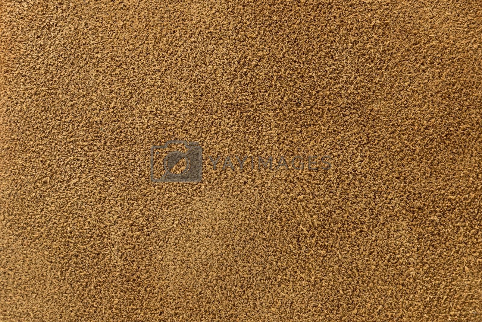 texture of suede brown, studio, subject survey