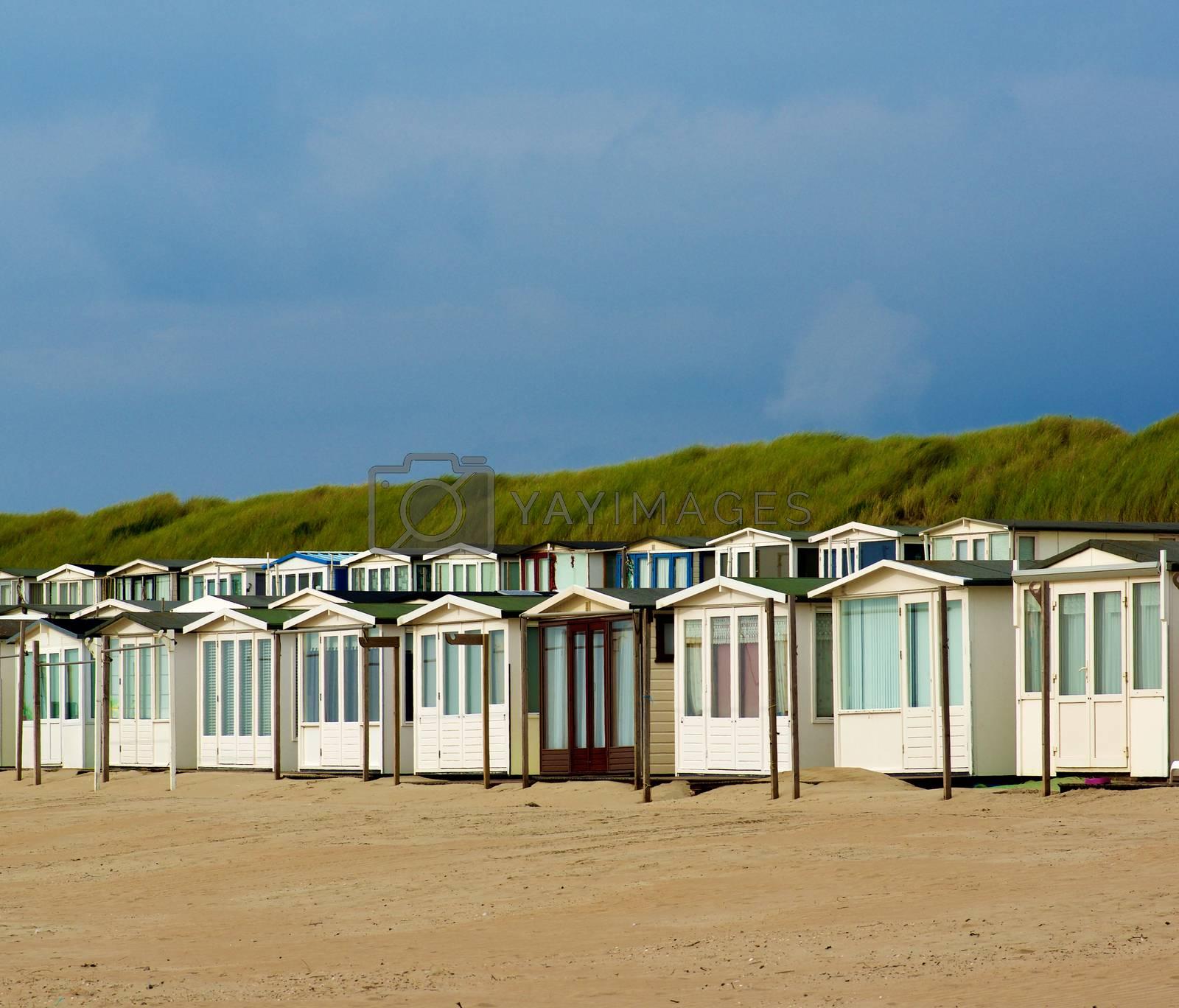 Beach Houses in Dunes by zhekos