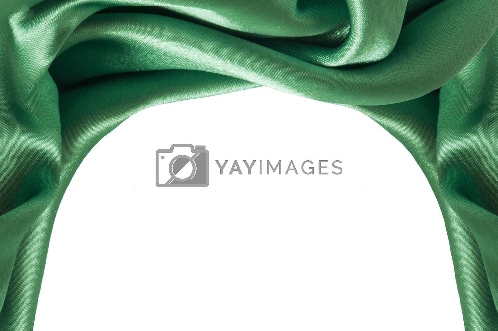 Royalty free image of  a green background fabric  by carla720