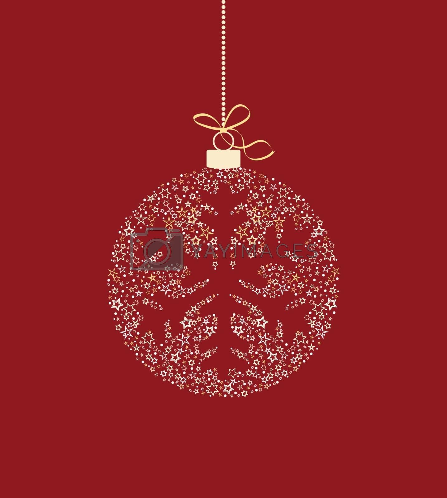 Christmas ball decoration by odina222