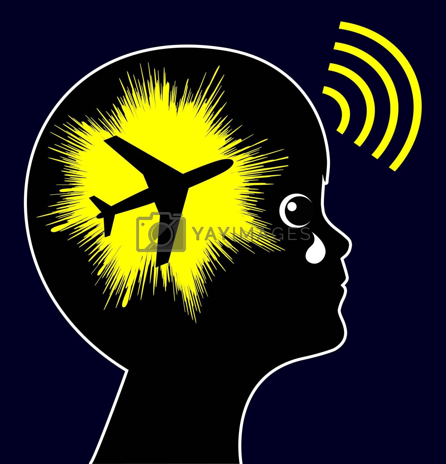 Noise pollution from airports have negative impact on the health of children