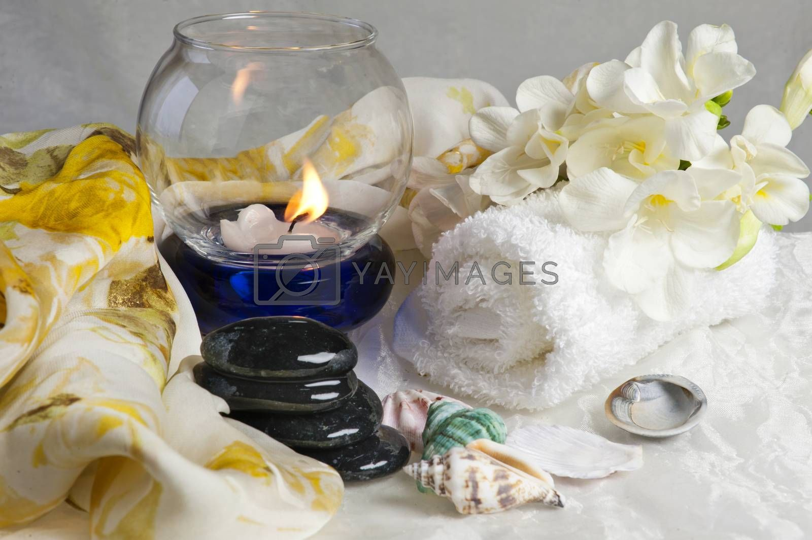 salts, creams, oil, hygiene products and body care