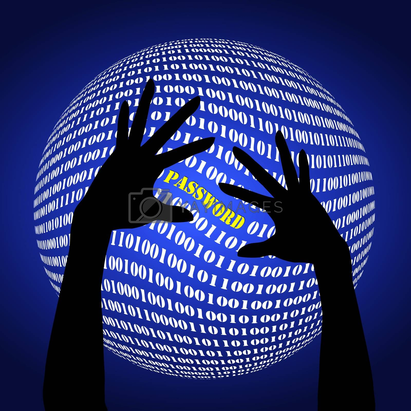 Warning sign to become alert to identity fraud on the internet