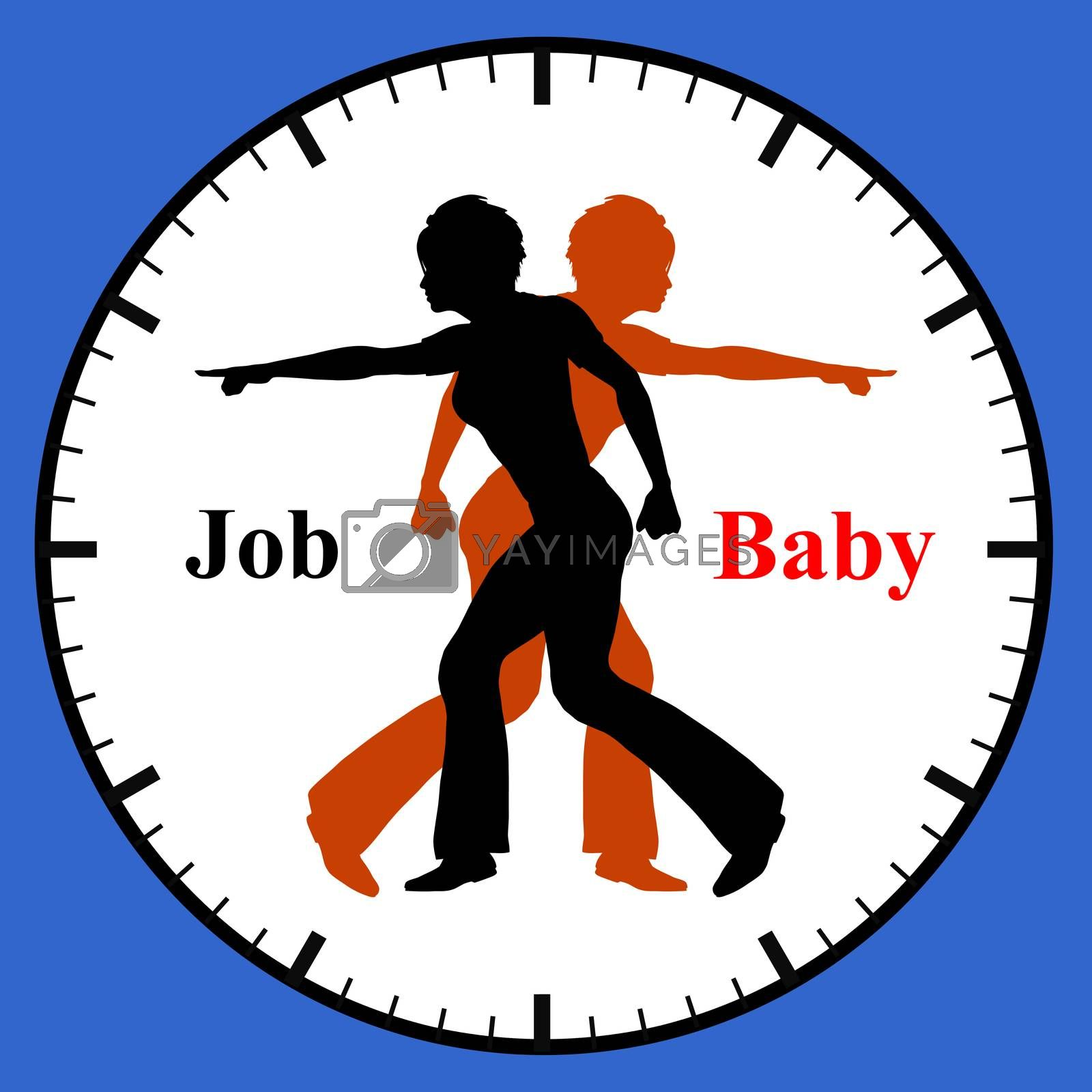 Conflict of compatibility of having a baby and work