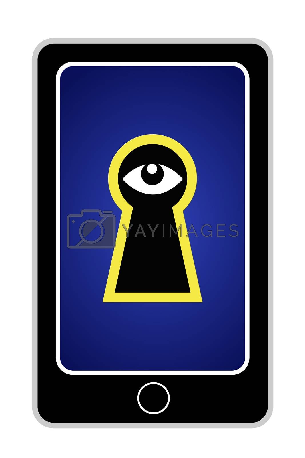Cell phones can turn into security threat concerning personal data and privacy