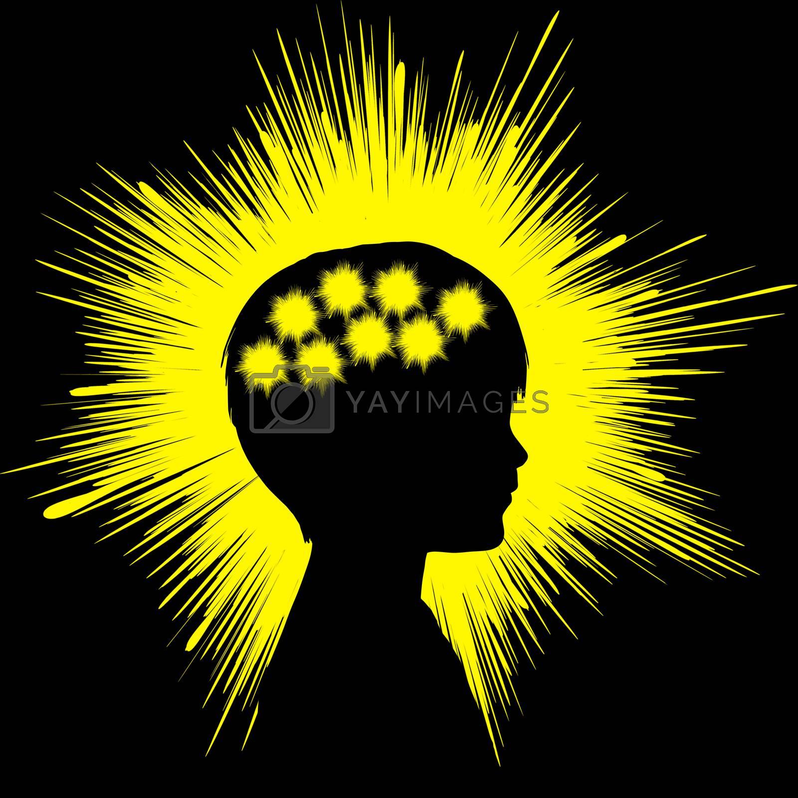 Epilepsy Concept Sign by Bambara