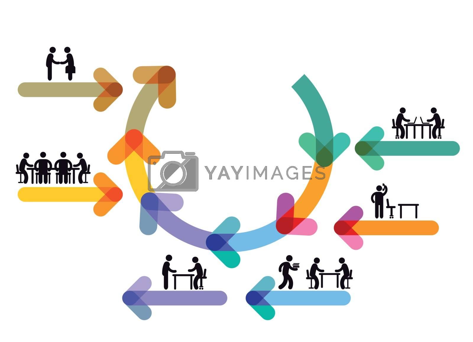 Office Work, workflow, coworkink, Teamwork