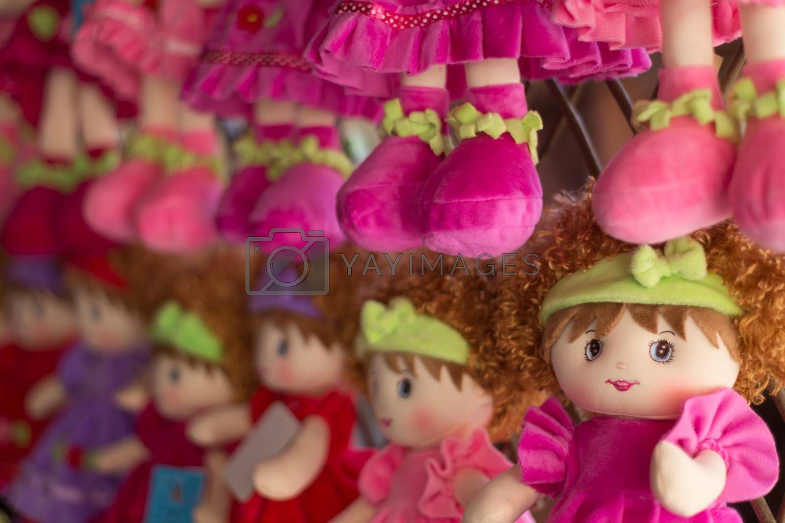 Wool doll, a perfect gift for a kid