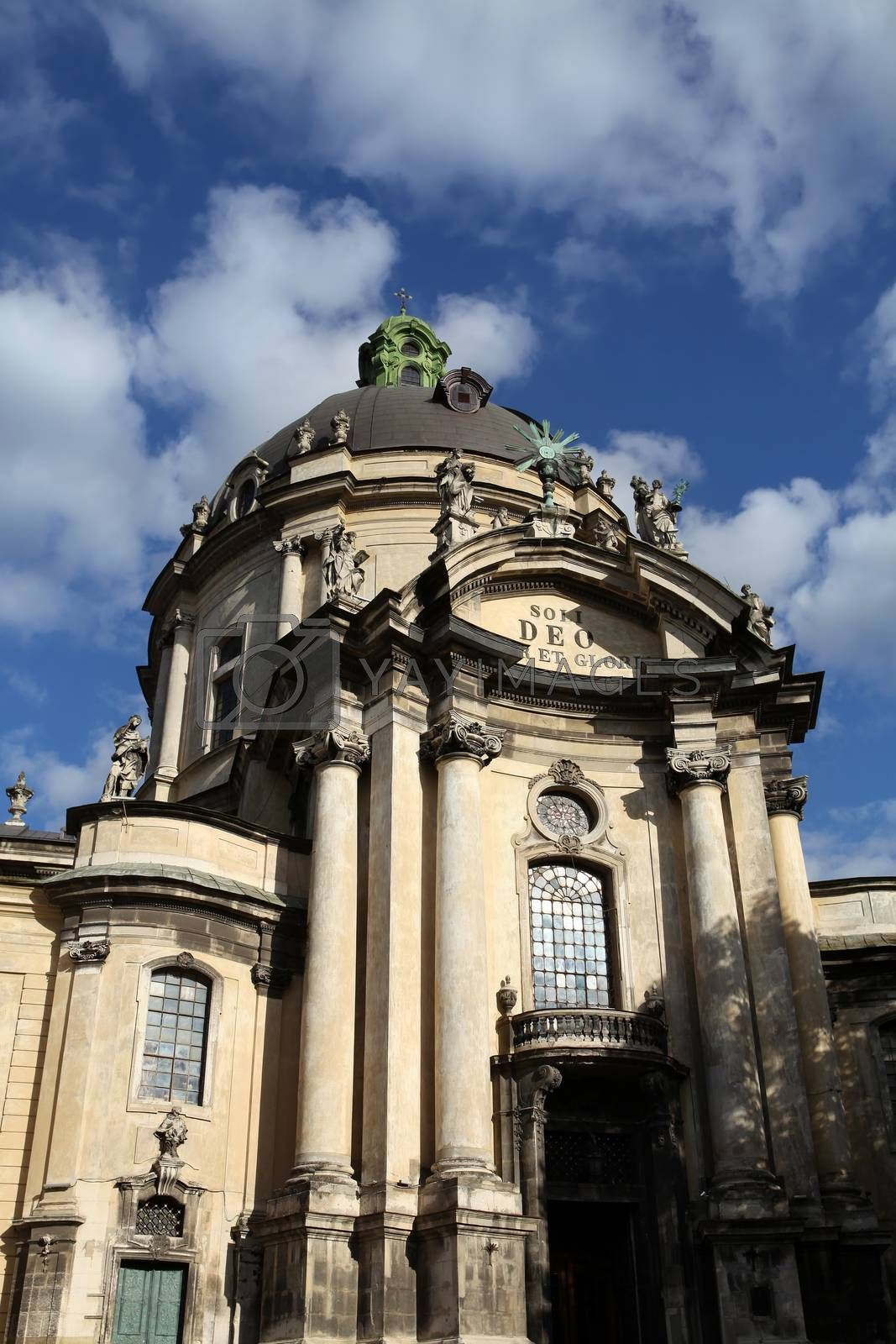 famous cathedral church in Lviv