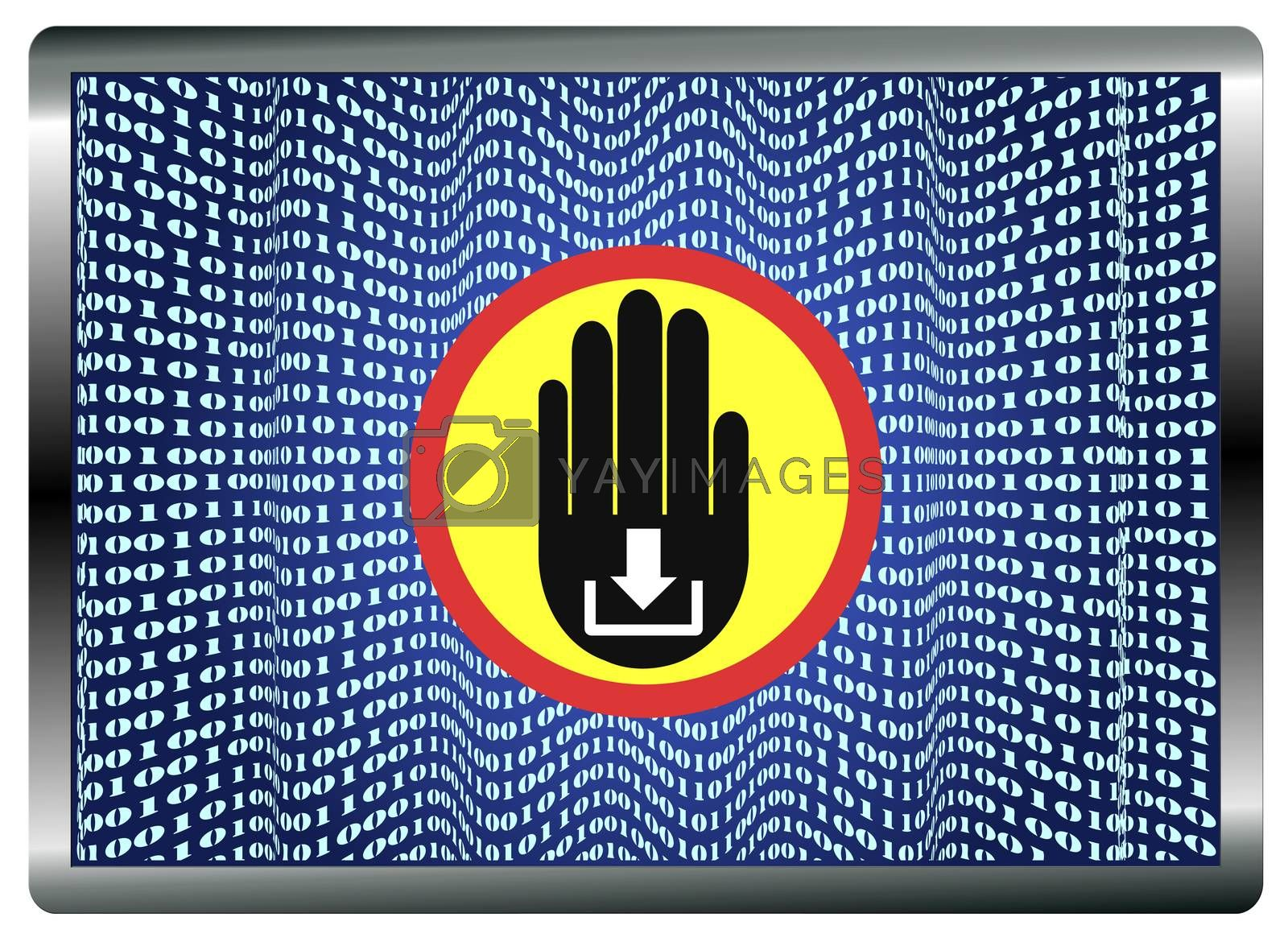 Stop Theft of Data by Bambara