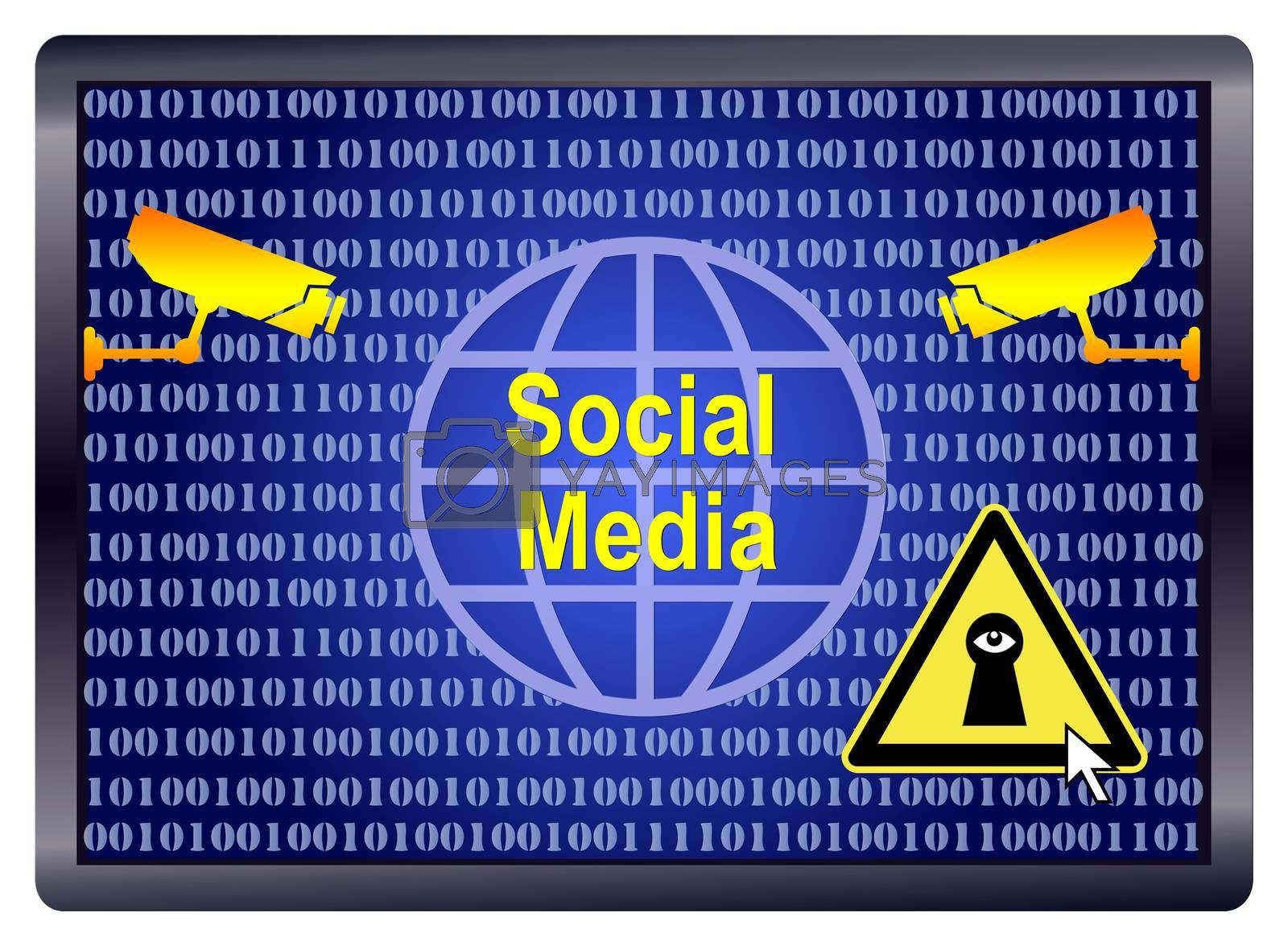 Spies in Social Media. Data traffic within Social Networks reveal many informations which can be used or misused in many different ways