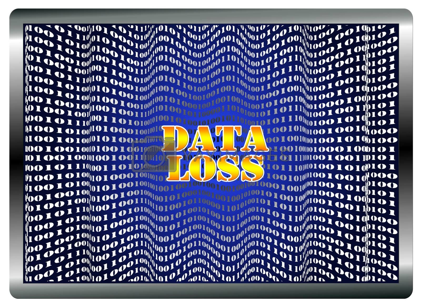 Software corruption, hardware malfunction, human error, virus can lead to loss of data